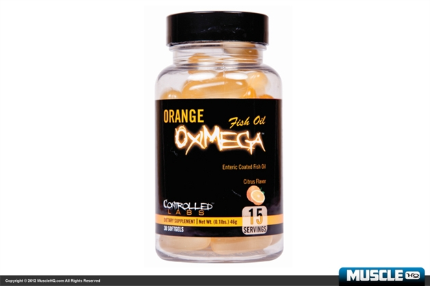 Controlled Labs Orange OxiMega Fish Oil - 15 Servings